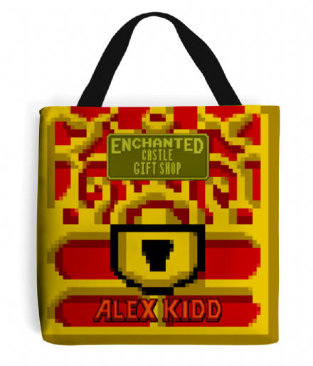 Alex Kid in The Enchanted Castle Gift Shop Shopping Tote Bag